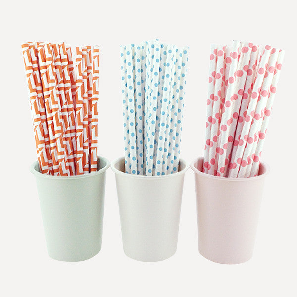 Paper Straw Friednship Set, 75pcs - Readymade Objects Shop