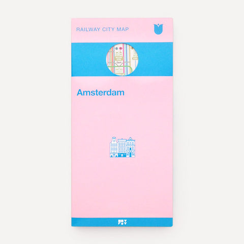 Railway City Map, Amsterdam - Readymade Objects Shop - 1