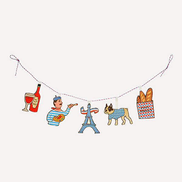 HIGHTIDE Little Toy Message Garland, Paris - Readymade Objects Shop - 2