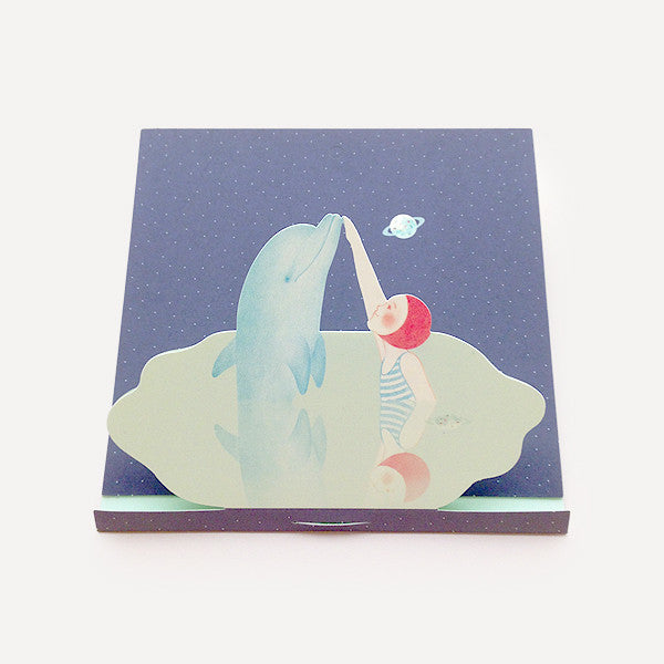 Dolphin, Frame Card - Readymade Objects Shop