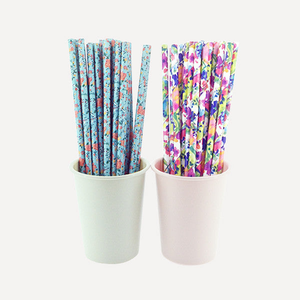 Paper Straw Grace Set, 50pcs - Readymade Objects Shop