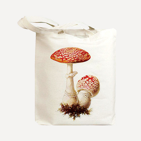 IDIOPIX C.C. Tote bag, Mushroom 1 - Readymade Objects Shop - 1