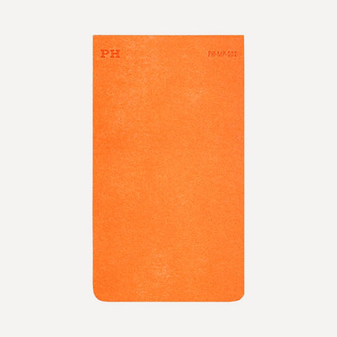 PH Memo Pad, Orange Color - Readymade Objects Shop - 1