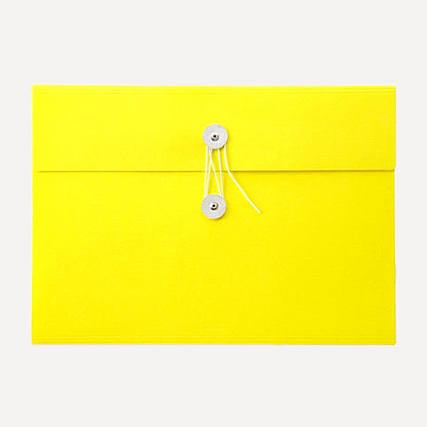PH Document File, A4 Size, Yellow Color - Readymade Objects Shop - 1