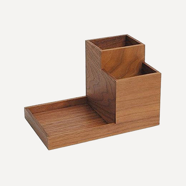 BUTLER Pen Stand, Walnut - Readymade Objects Shop - 1