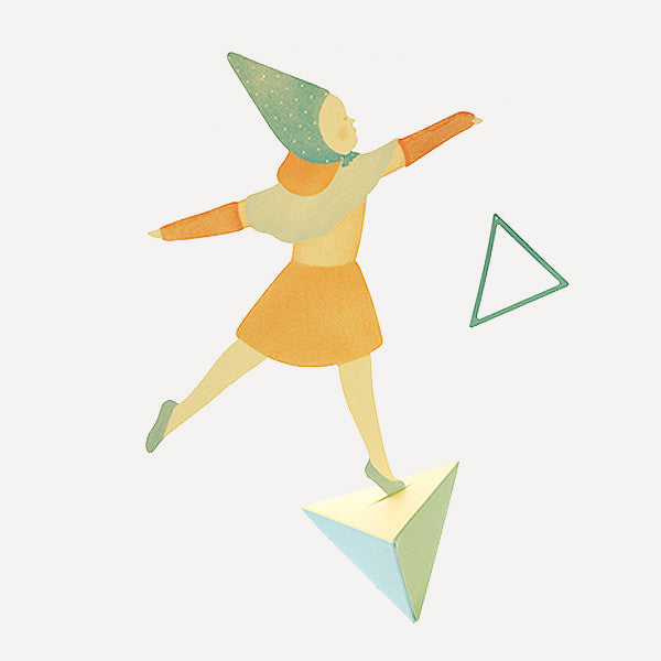 Triangle & Girl, Mobile - Readymade Objects Shop - 1