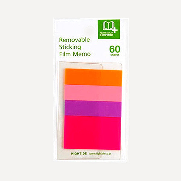 Removable Sticking Film Memo 60, B set - Readymade Objects Shop - 1