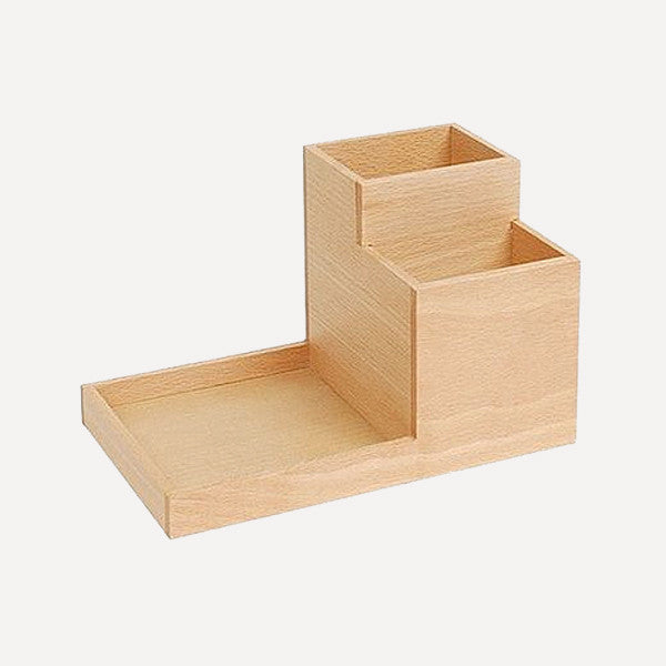 BUTLER Pen Stand, Japanese Ash wood - Readymade Objects Shop - 1