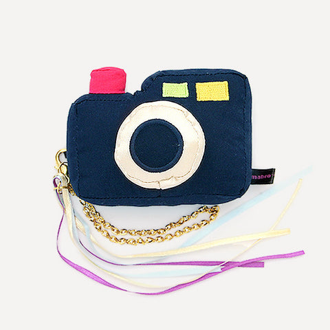 BAB SHAKE RATTLE TOY, CAMERA (Navy) - Readymade Objects Shop - 1