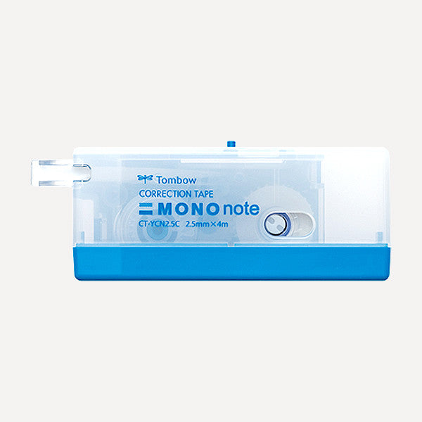 TOMBOW MONO Note Correction Tape, 2.5mm, Blue Color - Readymade Objects Shop - 1