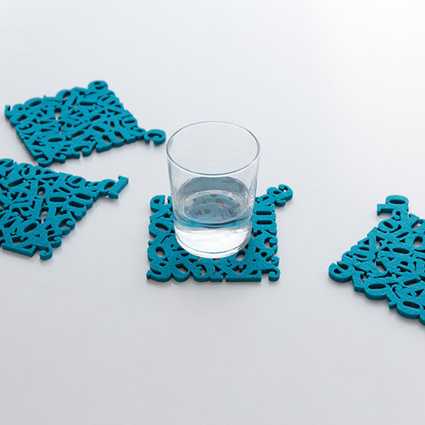 Alphabet Coasters - Readymade Objects Shop - 4