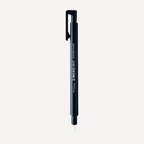 TOMBOW MONO Zero Eraser Pen EH-KUR11, Round point, Black Color - Readymade Objects Shop - 1