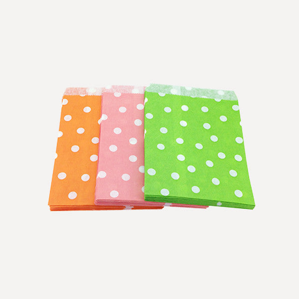 Paper Bag Polka Set B, 75pcs - Readymade Objects Shop