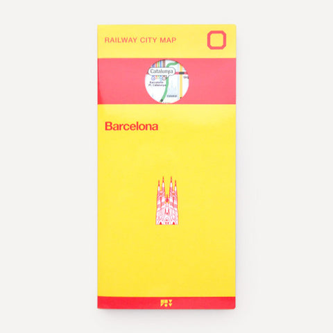 Railway City Map, Barcelona - Readymade Objects Shop - 1