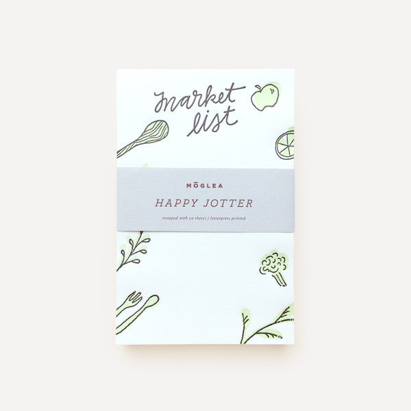 Happy Jotters, Green (Green Market List) - Readymade Objects Shop - 1