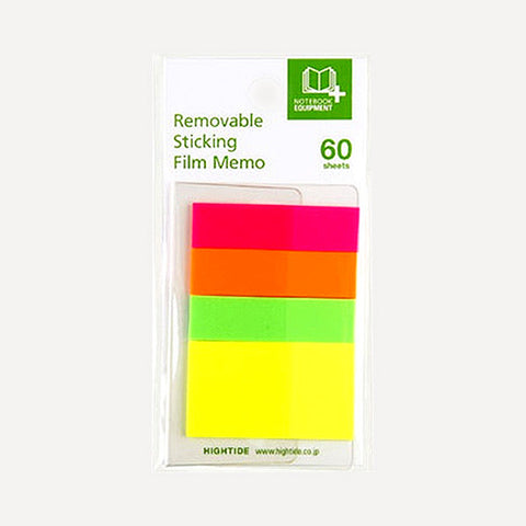 Removable Sticking Film Memo 60, A set - Readymade Objects Shop - 1