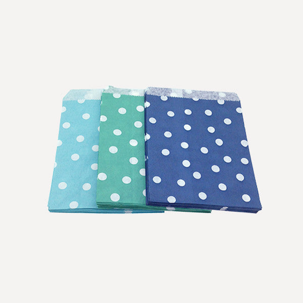 Paper Bag Polka Set A, 75pcs - Readymade Objects Shop