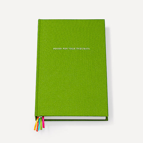 Word To The Wise Journal, Green - Readymade Objects Shop - 1