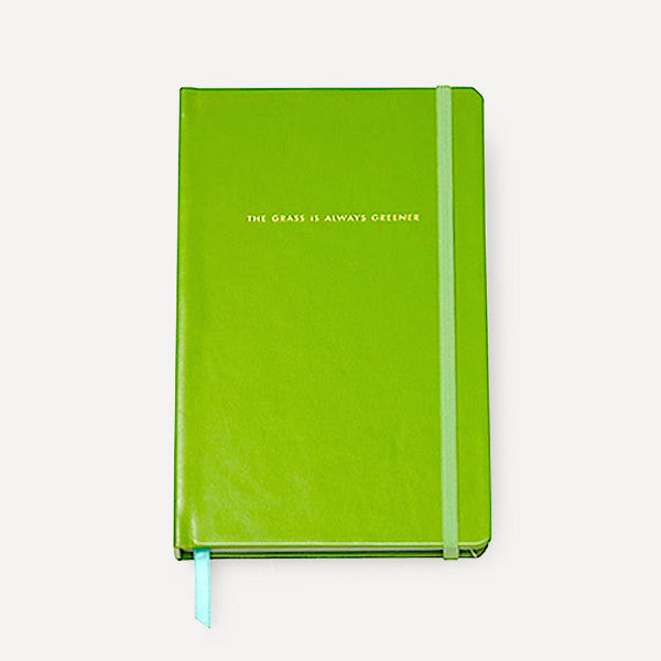 Take Note Large Notebook, Green - Readymade Objects Shop - 1