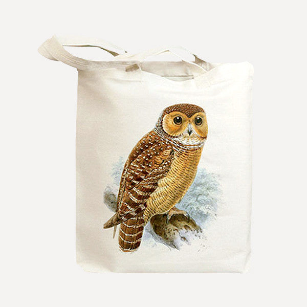 IDIOPIX C.C. Tote bag, Owl - Readymade Objects Shop - 1