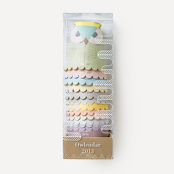 RMM Calendar 2013, Owlendar - Readymade Objects Shop - 1