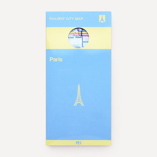 Railway City Map, Paris - Readymade Objects Shop - 1