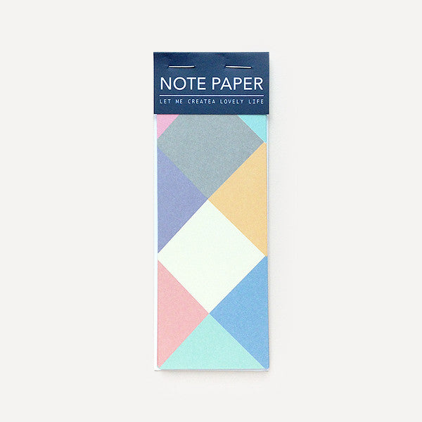 LOVELY Memo Pad, Diamond - Readymade Objects Shop