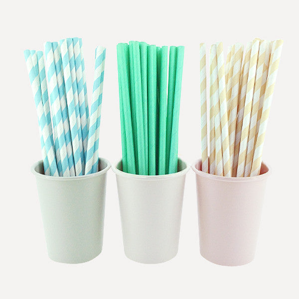 Paper Straw Breeze Set, 75pcs - Readymade Objects Shop