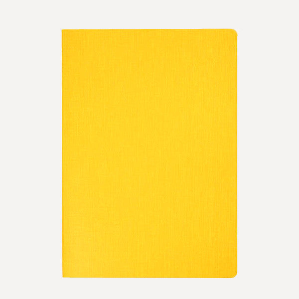HUM Dog Ear Notebook, L size, Yellow Color - Readymade Objects Shop - 1