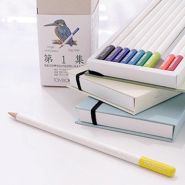TOMBOW IROJITEN Color pencils set CI-RTA , Rainforest collection, 30 pcs / set - Readymade Objects Shop - 4