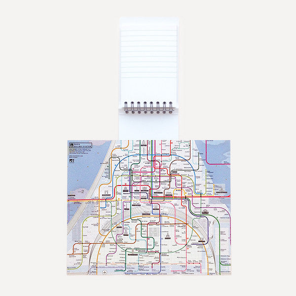 Pocket Map and Notepad, Paris - Readymade Objects Shop - 2
