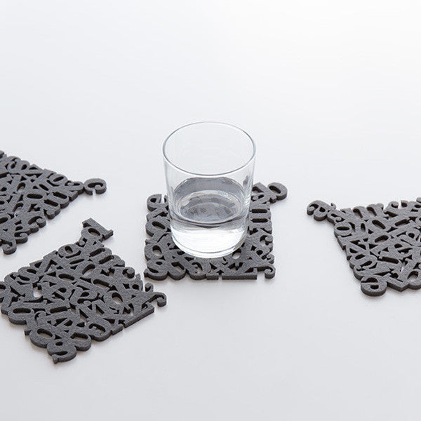 Alphabet Coasters - Readymade Objects Shop - 6
