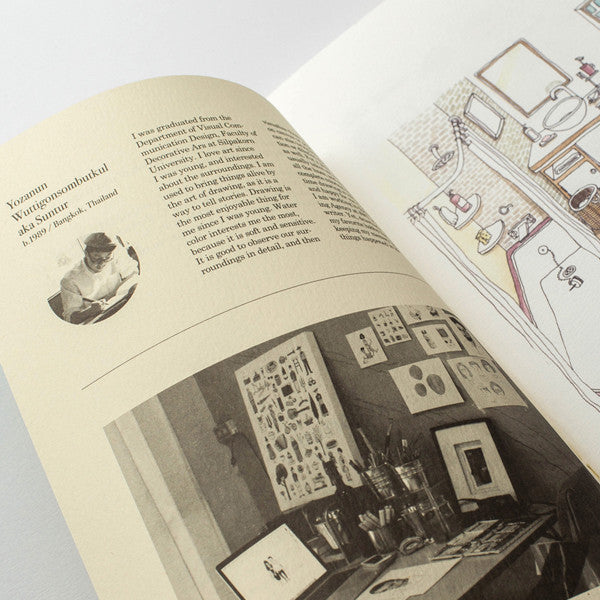 RMM Artbooks No.06 — Inspire, Daily Life and Portrait, by Suntur (Thailand) - Readymade Objects Shop - 3