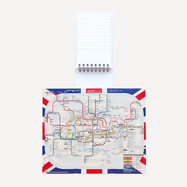 Pocket Map and Notepad, London - Readymade Objects Shop - 2