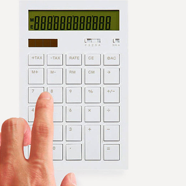 Calculator 12DD, White - Readymade Objects Shop - 2