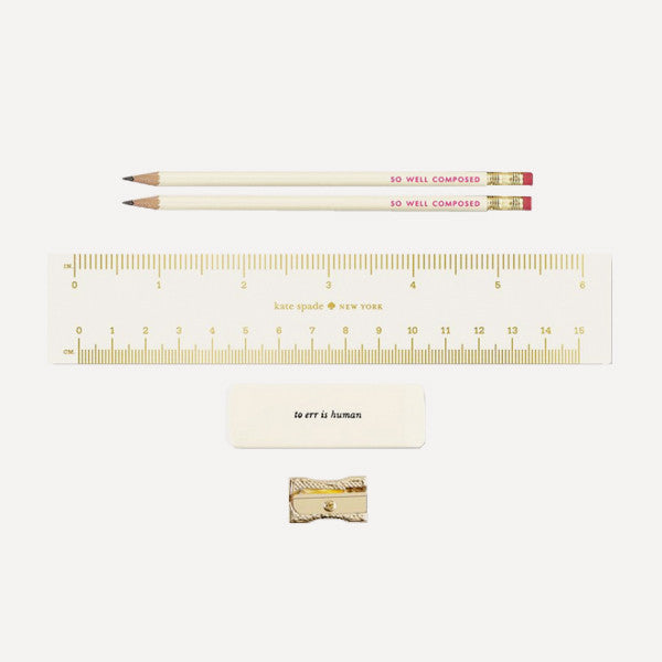 Pencil Pouch with stationery — Emma - Readymade Objects Shop - 2