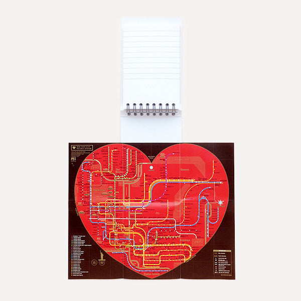Pocket Map and Notepad, New York City - Readymade Objects Shop - 2