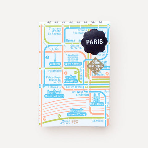 Pocket Map and Notepad, Paris - Readymade Objects Shop - 1