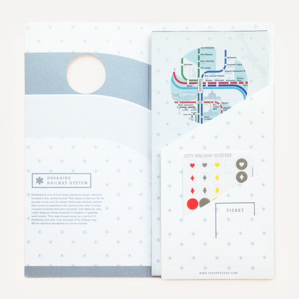 Railway City Map, Hoikkaido - Readymade Objects Shop - 2
