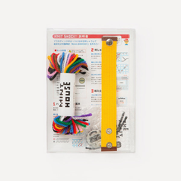 Knit-SHOCK!! (DIY kit) - Readymade Objects Shop - 3