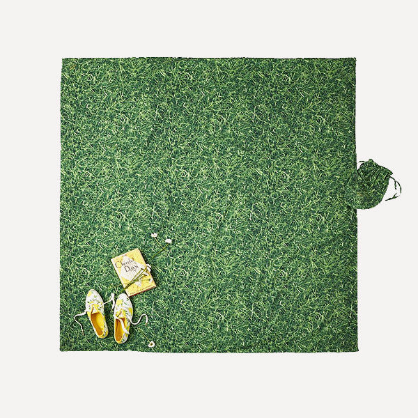 Grass is Greener Picnic Blanket - Readymade Objects Shop - 2