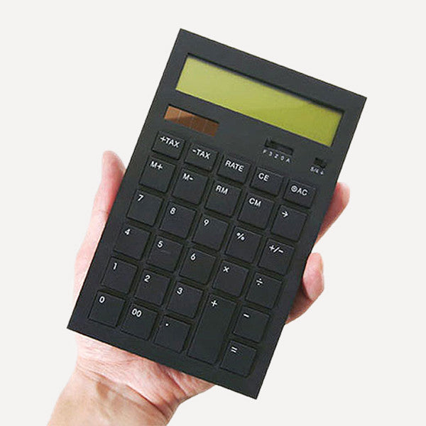 Calculator 12DD, Black - Readymade Objects Shop - 2