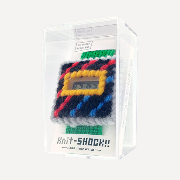 Knit-SHOCK!! (finished) Green - Readymade Objects Shop - 2