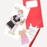 Little Toy Dress Up Letter, Young Girl - Readymade Objects Shop - 2