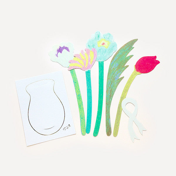 Flowers For You Greeting Card - Readymade Objects Shop - 2