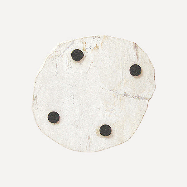 PETRIFIED WOOD COASTER White - Readymade Objects Shop - 2