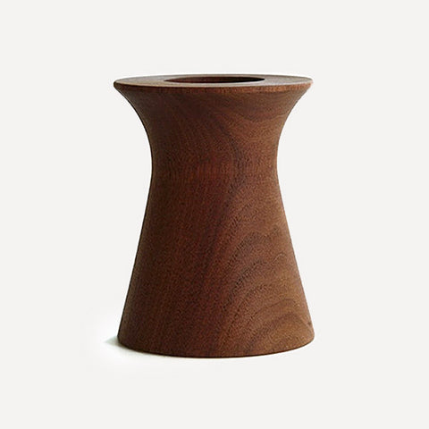 BUTLER Pen Pot, Olpe shape, Walnut - Readymade Objects Shop - 1