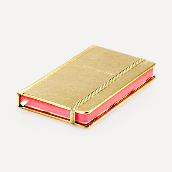 Take Note Medium Notebook, Gold - Readymade Objects Shop - 2
