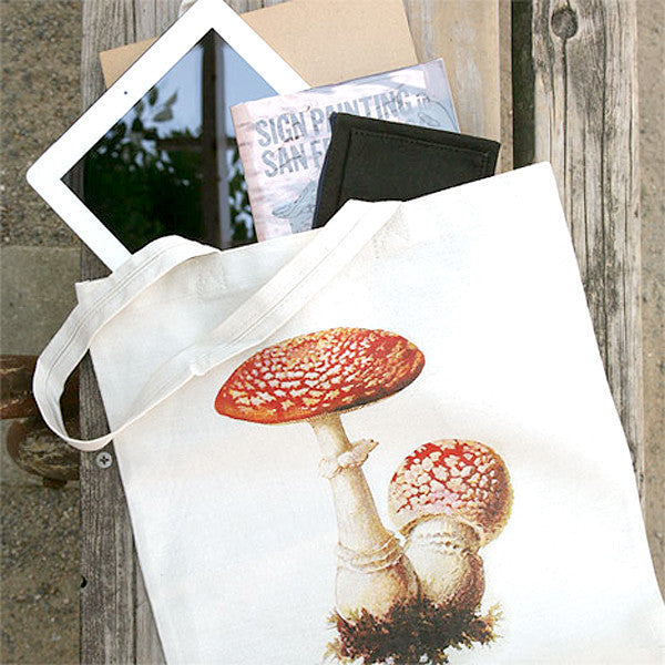 IDIOPIX C.C. Tote bag, Mushroom 3 - Readymade Objects Shop - 2