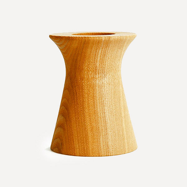 BUTLER Pen Pot, Olpe shape, Japanese Ash Wood - Readymade Objects Shop - 1